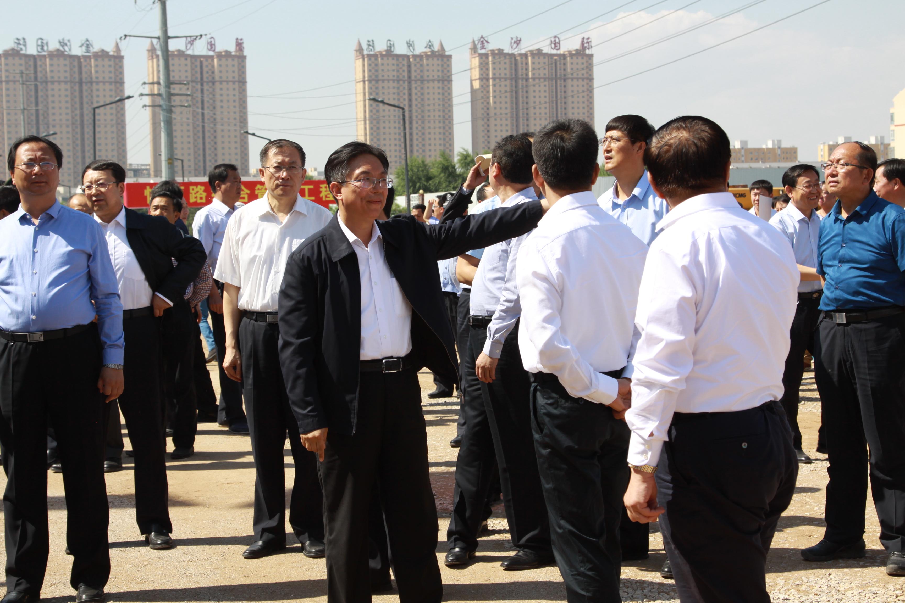 朔州市市本级市政基础设施公共服务设施重点工程集中开工仪式举行