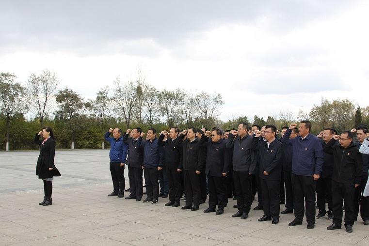 市住建局组织全系统党员干部在塞北革命烈士纪念馆进行革命传统教育