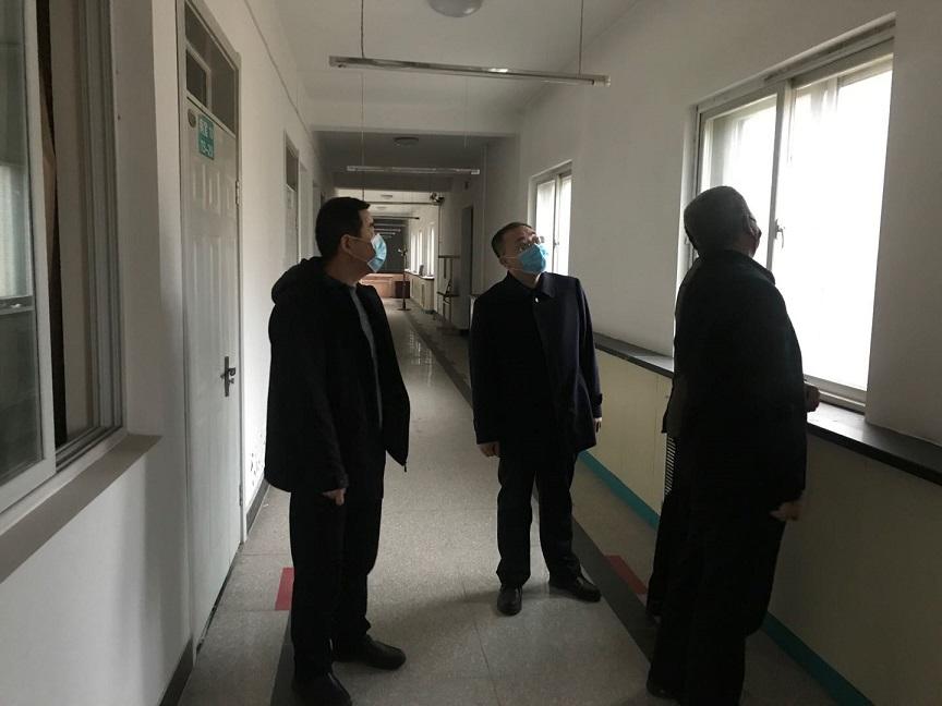 朔州市住建局开展全市疫情防控房屋安全隐患排查工作